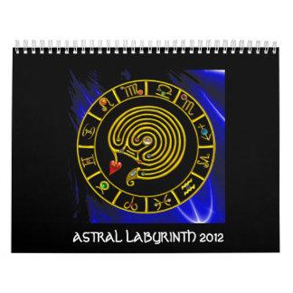 LABERINTO ASTRAL 2012 CALENDARIOS DE PARED