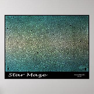 Laberinto de la estrella poster