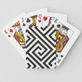 Laberinto imposible barajas de cartas