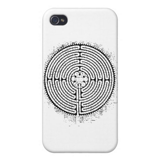 Laberinto iPhone 4 Protectores