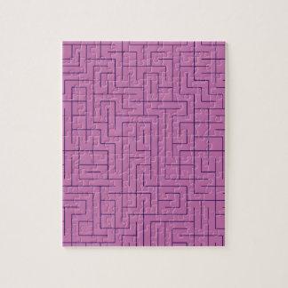 Laberinto púrpura puzzle