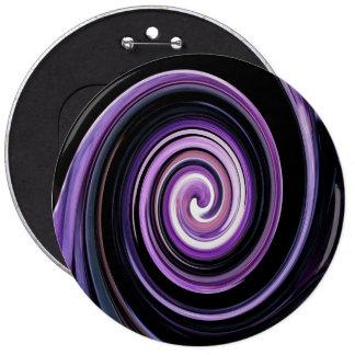 Laberinto púrpura y negro pins