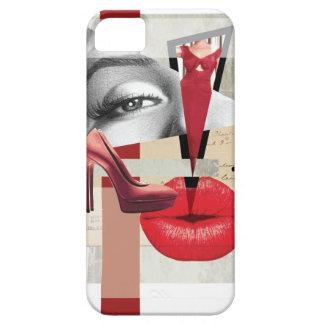 Labio de Monroe del arte de la belleza de Wellcoda iPhone 5 Funda