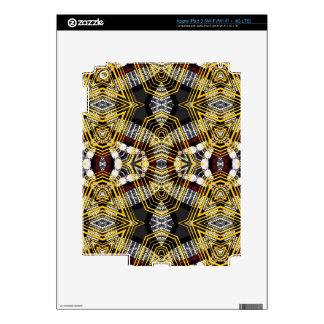 Labios abstractos de Bling iPad 3 Pegatinas Skins