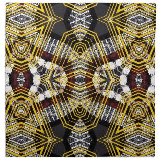 Labios abstractos de Bling Servilleta Imprimida