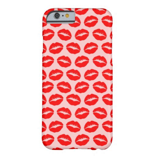 Labios de Kissy Funda Barely There iPhone 6