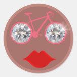 labios del ciclo de los diamantes etiquetas