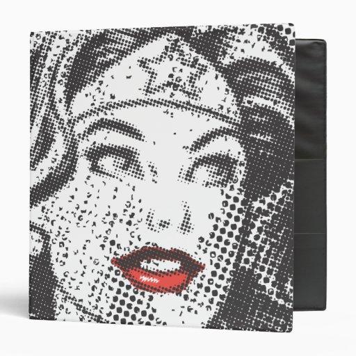 Labios del rojo de la Mujer Maravilla