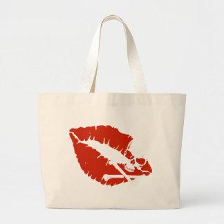 labios del veneno bolsa de mano