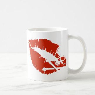 labios del veneno tazas de café