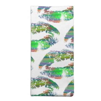 Labios elegantes #23 servilleta de papel
