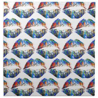 Labios elegantes #41 servilleta de papel