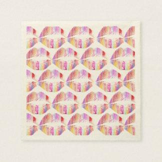 Labios elegantes #9 servilleta de papel