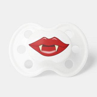 Labios falsos del vampiro y pacificador divertido  chupete