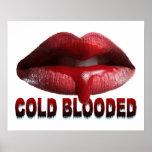 Labios fríos de Blooded Poster