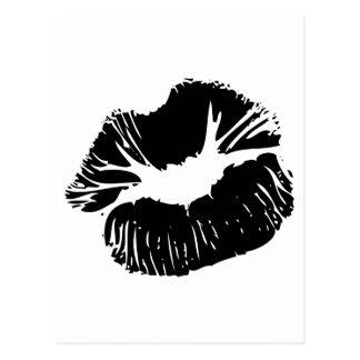 Labios negros postales