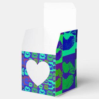Labios psicodélicos cajas para regalos