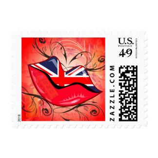Labios Reino Unido Sello