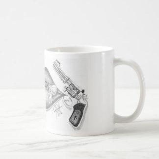 labios relampagados taza de café