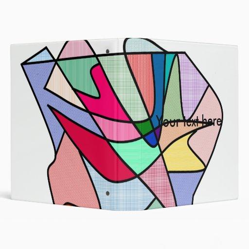 Labios y lengua frescos del vitral en multicolors