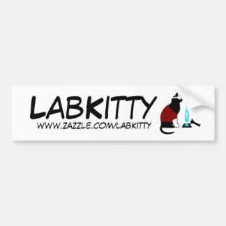 LabKitty Pegatina De Parachoque