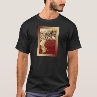LaBoheme ~ Puccini Opera 1896 w/Background T-Shirt