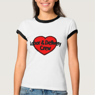 Labor and Delivery Crew (Heart) T-Shirt
