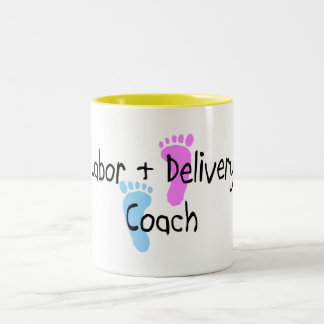 Labor and Delivery Crew Two-Tone Coffee Mug