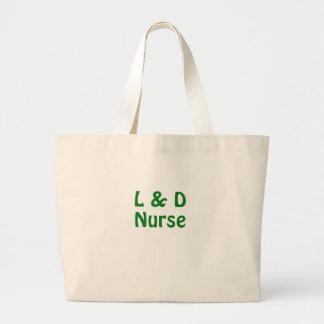 Labor and Delivery Nurse Canvas Bag