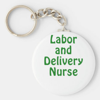 Labor and Delivery Nurse Keychains