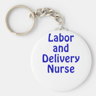 Labor and Delivery Nurse Keychain