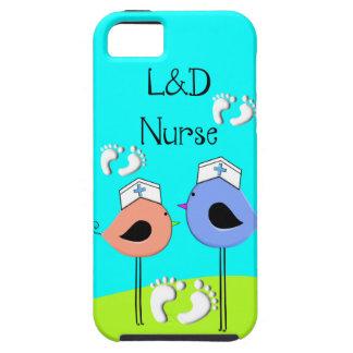 Labor and Delivery Nurse Nurse Birds iPhone 5 Cover
