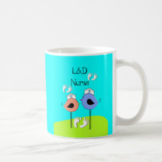 Labor and Delivery Nurse Nurse Birds Coffee Mug