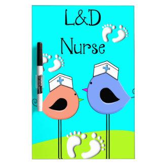 Labor and Delivery Nurse Nurse Birds Dry-Erase Boards