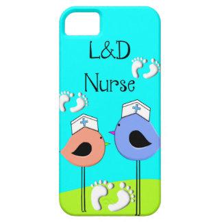 Labor and Delivery Nurse Nurse Birds iPhone SE/5/5s Case