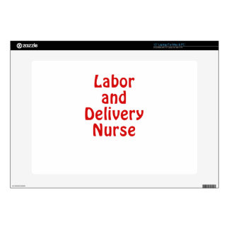"""Labor and Delivery Nurse Decals For 15"""" Laptops"""