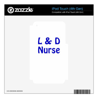 Labor and Delivery Nurse iPod Touch 4G Skin