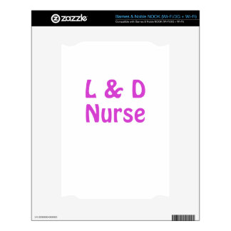 Labor and Delivery Nurse Decal For NOOK