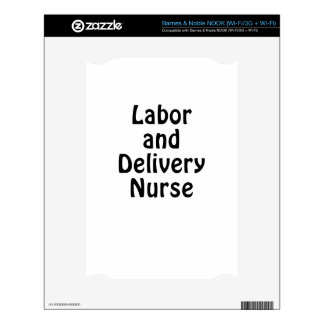 Labor and Delivery Nurse Decals For The NOOK