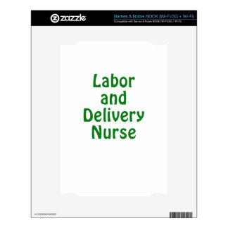 Labor and Delivery Nurse NOOK Skin