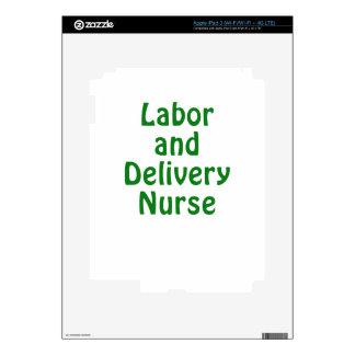 Labor and Delivery Nurse iPad 3 Decals