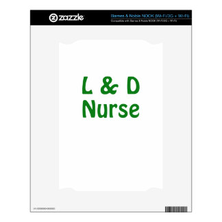 Labor and Delivery Nurse Skins For The NOOK