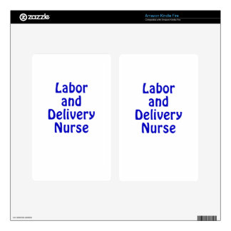 Labor and Delivery Nurse Skins For Kindle Fire
