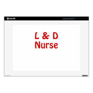 """Labor and Delivery Nurse Skin For 15"""" Laptop"""