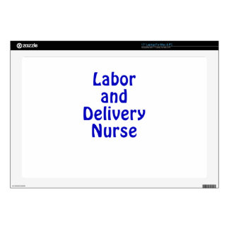 Labor and Delivery Nurse Laptop Decal