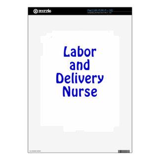 Labor and Delivery Nurse iPad 2 Skin