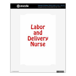 Labor and Delivery Nurse NOOK Skins