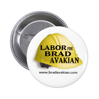 Labor Avakian Pinback Buttons