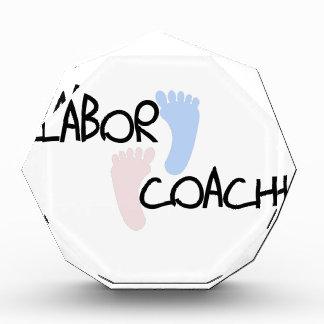 Labor Coach Acrylic Award