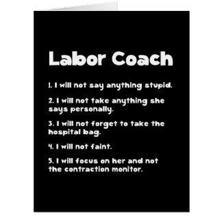 Labor Coach Card